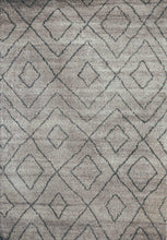 Lingala Light Hand-knotted Polyester-rugs-Airloom