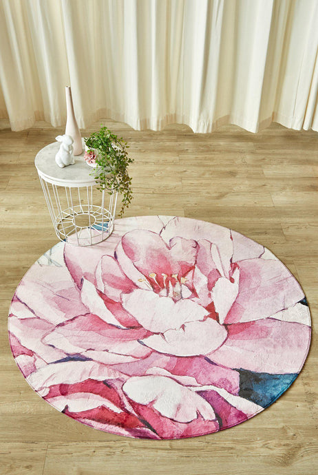 Peonie Circle-rugs-Airloom