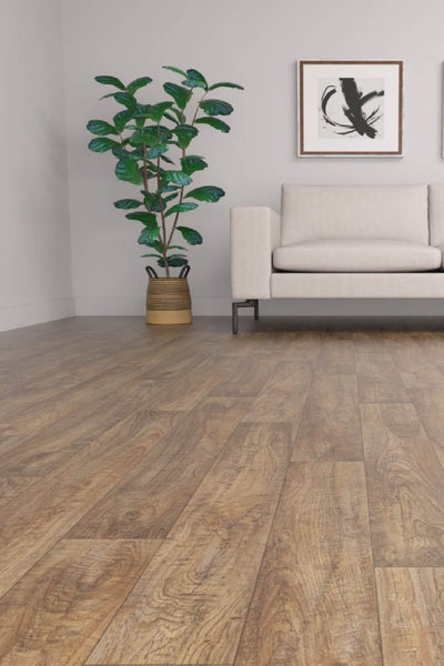 Stock Oak 666M (Vinyl Sheeting, Stick Down)-flooring-Airloom