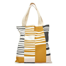 Warm Bauhaus Slant Tote Bag-Decor-Airloom