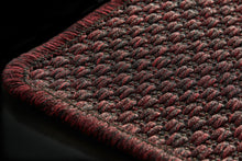 Woven Ruby Red Rug-rugs-Airloom