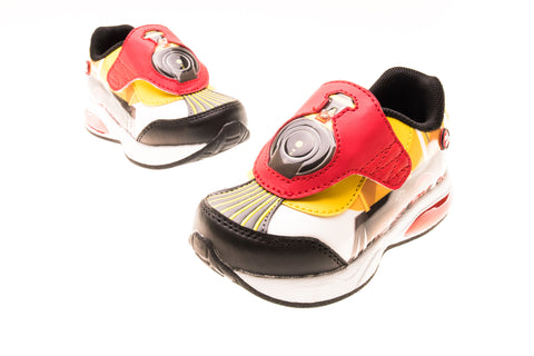 Choo Choo Shoes in Red & Black