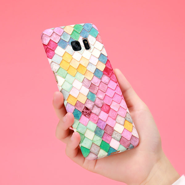 Colourful Mermaid Samsung Case