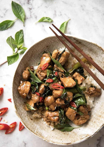 Chilli Chicken and Basil