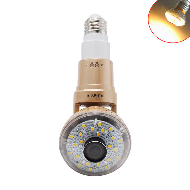 Home security light bulb wifi camera hibabashop home security light bulb wifi camera aloadofball Gallery