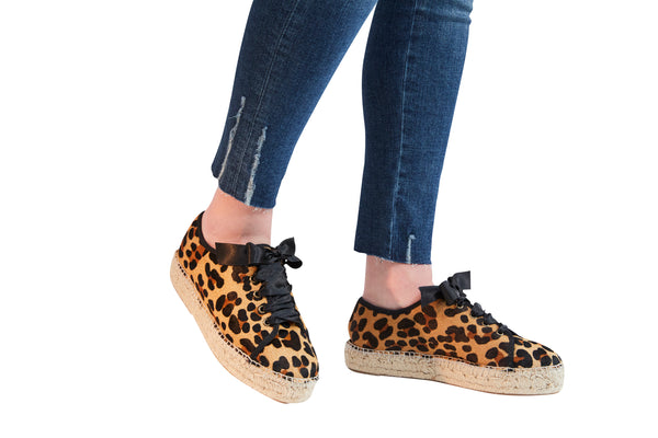LONDON CITY LEOPARD SNEAKER