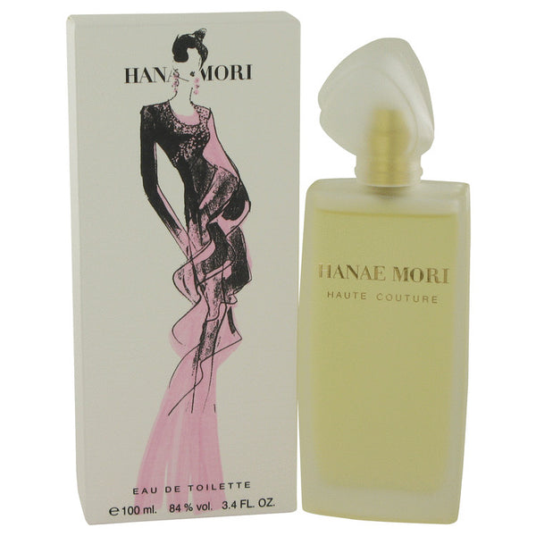 Hanae Mori Haute Couture by Hanae Mori Eau De Toilette Spray 3.4 oz for Women