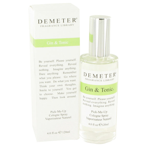 Gin & Tonic by Demeter Cologne Spray 4 oz for Men