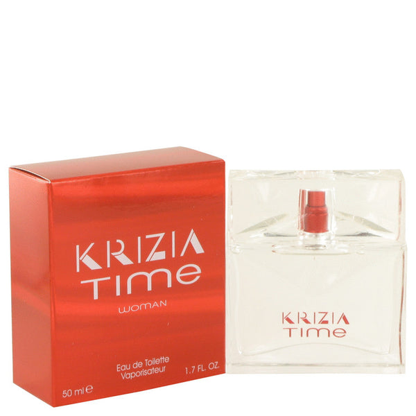 Krizia Time by Krizia Eau De Toilette Spray 1.7 oz for Women