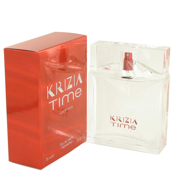 Krizia Time by Krizia Eau De Toilette Spray 2.5 oz for Women