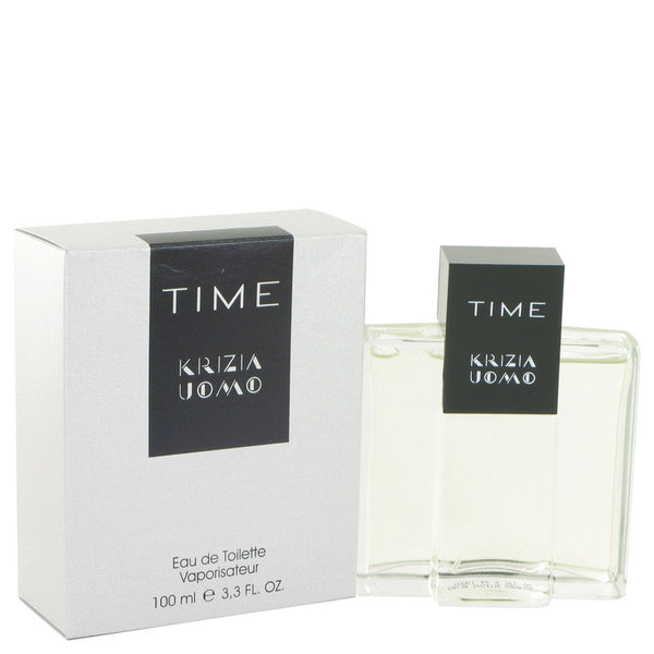 Krizia Time by Krizia Eau De Toilette Spray 3.4 oz for Men