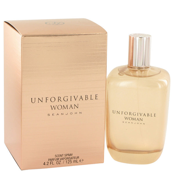 Unforgivable by Sean John Eau De Parfum Spray 4.2 oz for Women