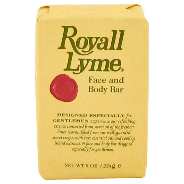 ROYALL LYME by Royall Fragrances Face and Body Bar Soap 8 oz for Men
