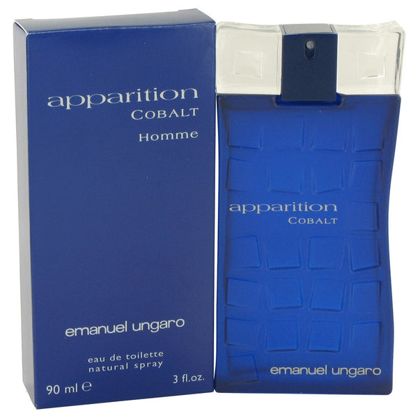 Apparition Cobalt by Ungaro Eau De Toilette Spray 3 oz for Men