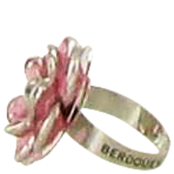 Fleurs De Cerisier Berdoues by Berdoues Flower Cocktail Ring -- for Women