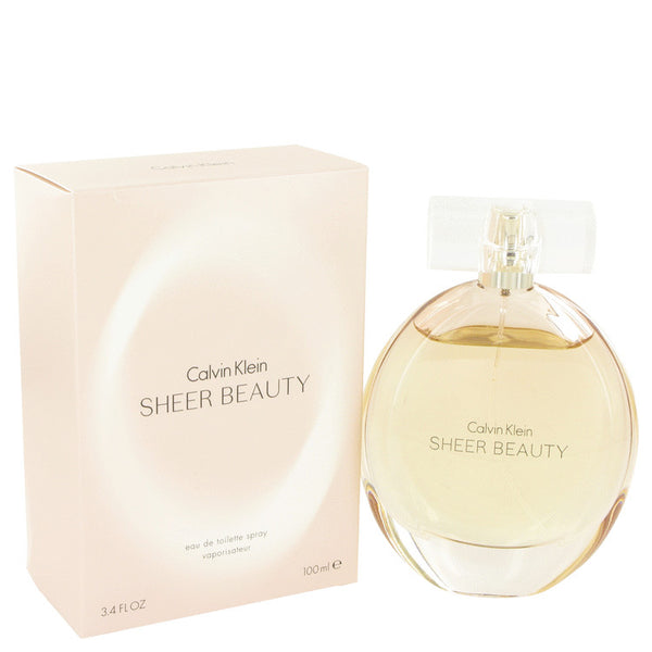 Sheer Beauty by Calvin Klein Eau De Toilette Spray 3.4 oz for Women