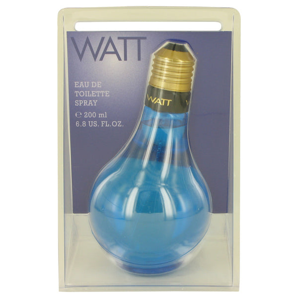 WATT Blue by Cofinluxe Eau De Toilette Spray 6.8 oz for Men