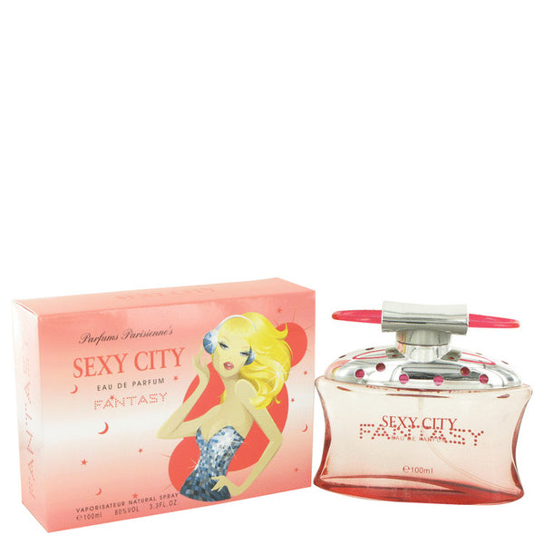 Sex In The City Fantasy by Unknown Eau De Parfum Spray (New Packaging) 3.4 oz for Women