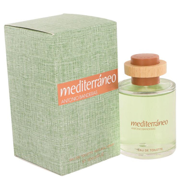 Mediterraneo by Antonio Banderas Eau De Toilette Spray 3.4 oz for Men