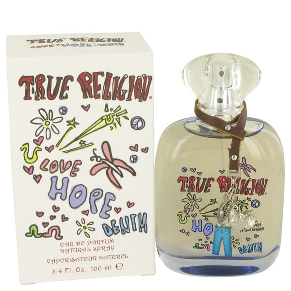 True Religion Love Hope Denim by True Religion Eau De Parfum Spray 3.4 oz for Women