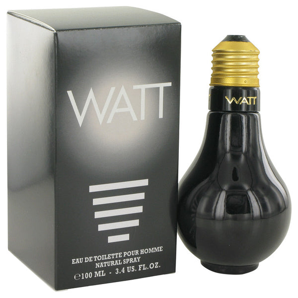 Watt Black by Cofinluxe Eau De Toilette Spray 3.4 oz for Men