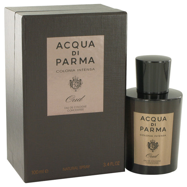 Acqua Di Parma Colonia Intensa Oud by Acqua Di Parma Eau De Cologne Concentree Spray 3.4 oz for Men