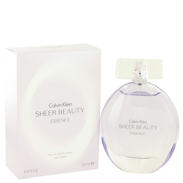 Sheer Beauty Essence by Calvin Klein Eau De Toilette Spray 3.4 oz for Women