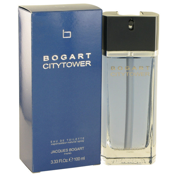 Bogart City Tower by Jacques Bogart Eau De Toilette Spray 3.3 oz for Men
