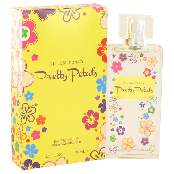 Pretty Petals by Ellen Tracy Eau De Parfum Spray 2.5 oz for Women
