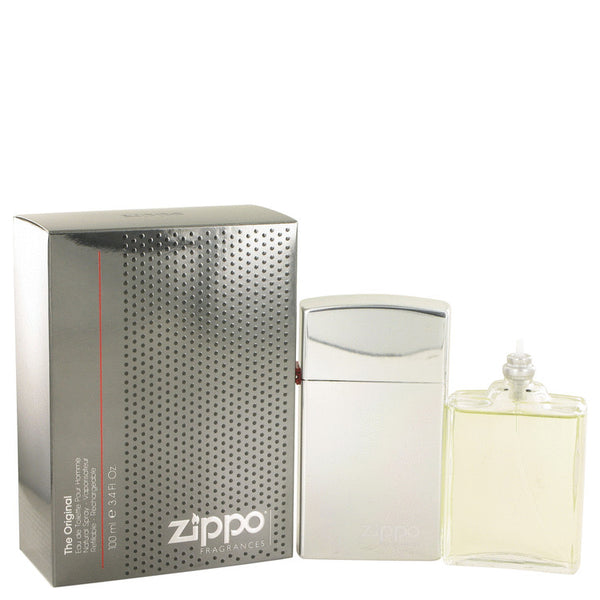 Zippo Original by Zippo Eau De Toilette Spray Refillable 3.4 oz for Men