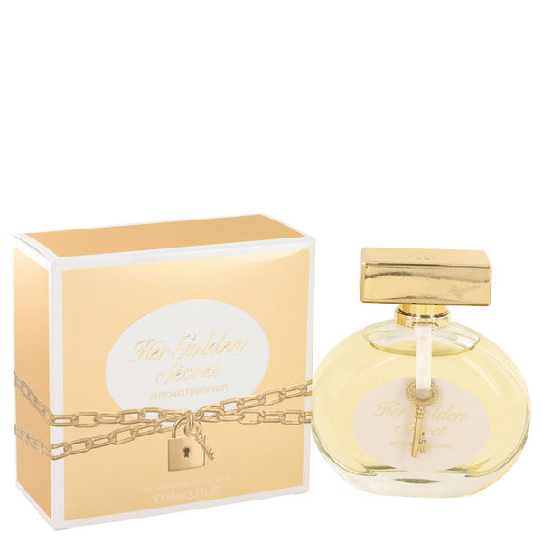 Her Golden Secret by Antonio Banderas Eau De Toilette Spray 2.7 oz for Women
