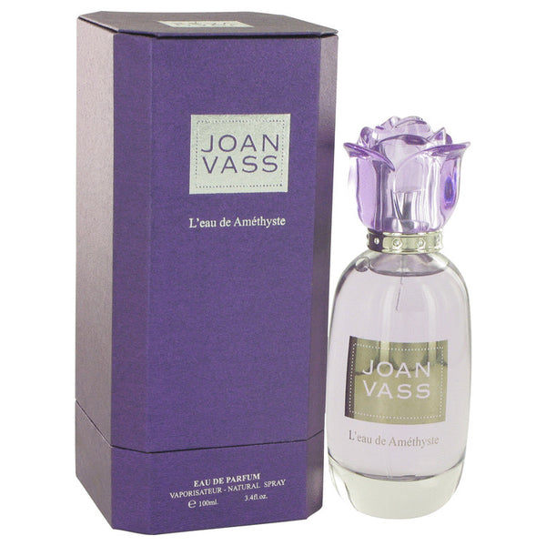 L'eau De Amethyste by Joan Vass Eau De Parfum Spray 3.4 oz for Women