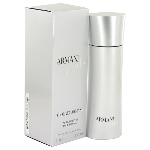 Armani Code Ice by Giorgio Armani Eau De Toilette Spray 2.5 oz for Men