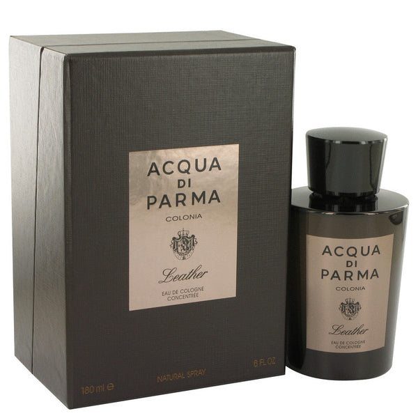 Acqua Di Parma Colonia Leather by Acqua Di Parma Eau De Cologne Concentree Spray 6 oz for Men