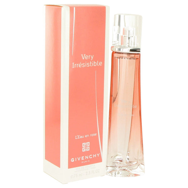 Very Irresistible L'eau En Rose by Givenchy Eau De Toilette Spray 2.5 oz for Women