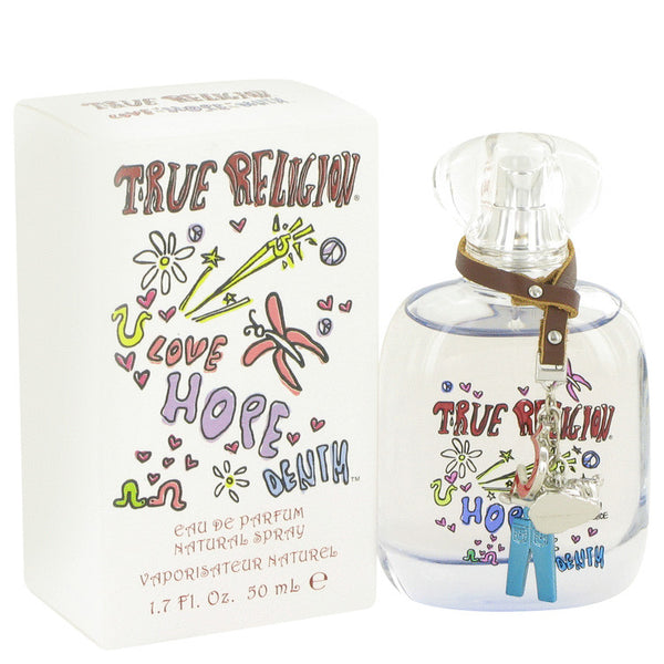 True Religion Love Hope Denim by True Religion Eau De Parfum Spray 1.7 oz for Women