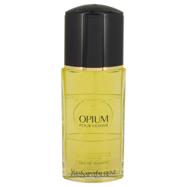 OPIUM by Yves Saint Laurent Eau De Toilette Spray (Tester) 3.3 oz for Men
