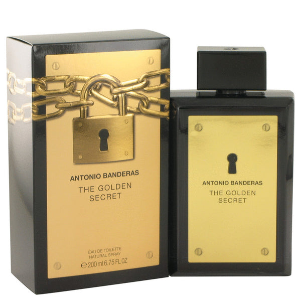The Golden Secret by Antonio Banderas Eau De Toilette Spray 6.7 oz for Men