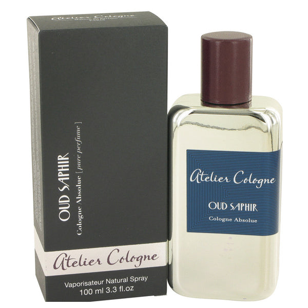 Oud Saphir by Atelier Cologne Pure Perfume Spray 3.3 oz for Men