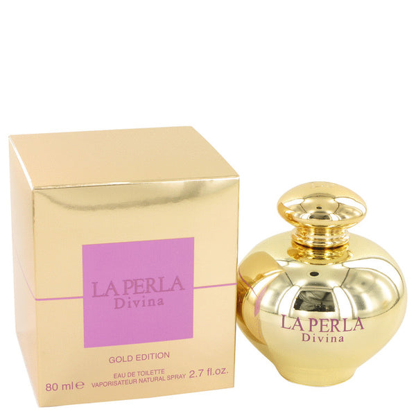 La Perla Divina Gold by Ungaro Eau De Toilette Spray 2.7 oz for Women