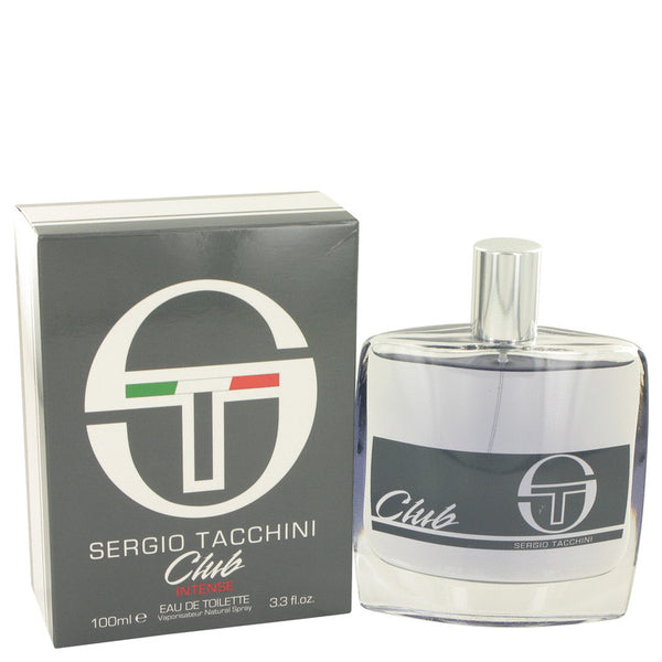 Sergio Tacchini Club Intense by Sergio Tacchini Eau De Toilette Spay 3.3 oz for Men