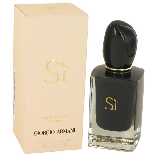Armani Si Intense by Giorgio Armani Eau De Parfum Spray 1.7 oz for Women