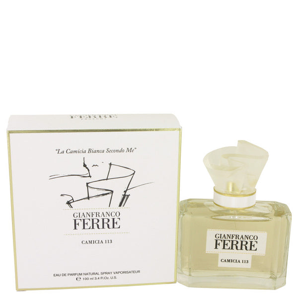 Gianfranco Ferre Camicia 113 by Gianfranco Ferre Eau De Parfum Spray 3.4 oz for Women