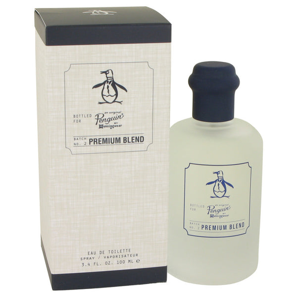 Original Penguin Premium Blend by Original Penguin Eau De Toilette Spray 3.4 oz for Men
