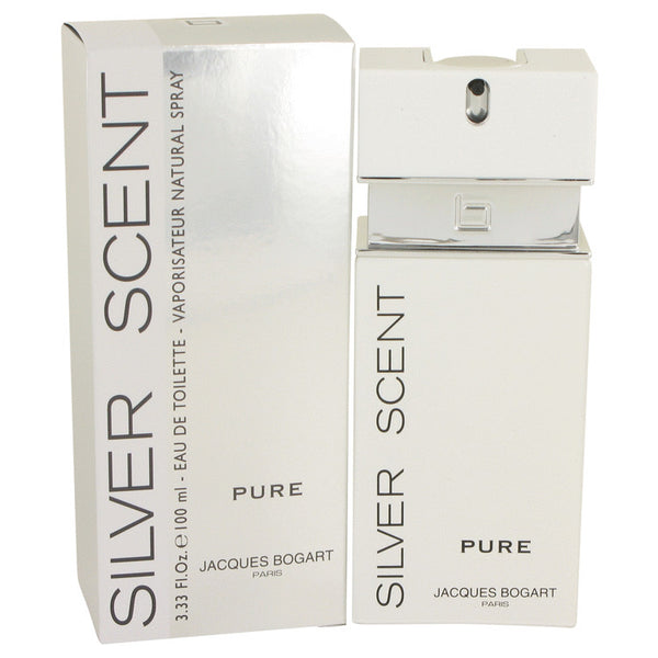 Silver Scent Pure by Jacques Bogart Eau De Toilette Spray 3.4 oz for Men