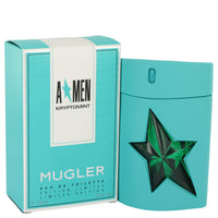 Angel Kryptomint by Thierry Mugler Eau De Toilette Spray 3.4 oz for Men