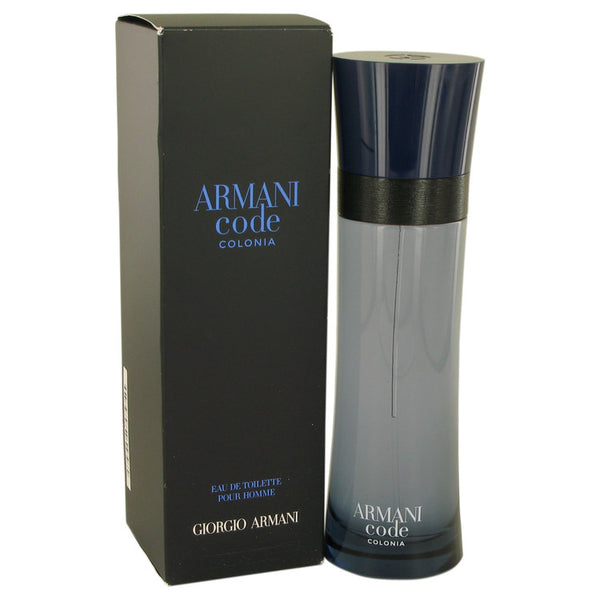 Armani Code Colonia by Giorgio Armani Eau De Toilette Spray 4.3 oz for Men