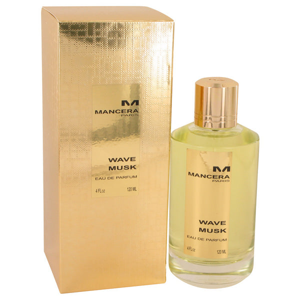 Mancera Wave Musk by Mancera Eau De Parfum Spray (Unisex) 4 oz for Women