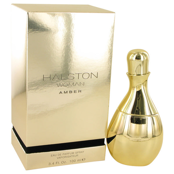 Halston Woman Amber by Halston Eau De Parfum Spray 3.4 oz for Women