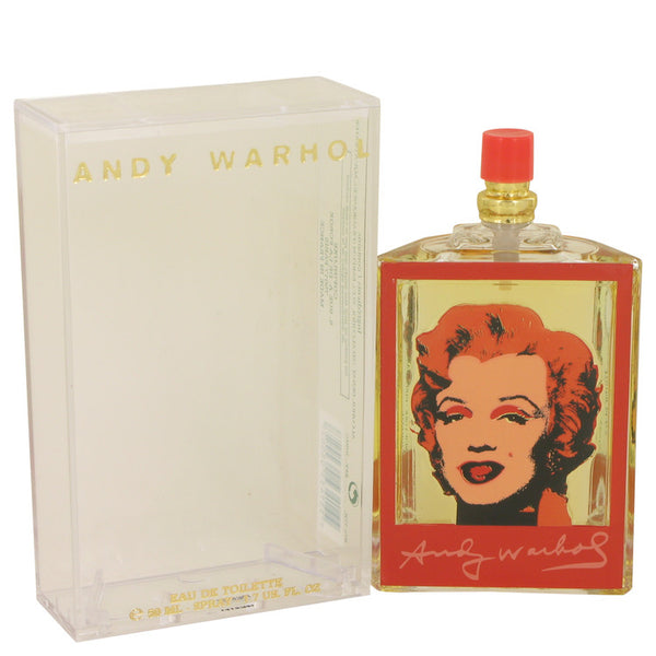 Andy Warhol Marilyn Red by Andy Warhol Eau De Toilette Spray 1.7 oz for Women